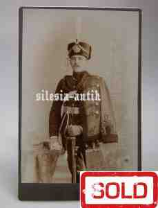 German Portrait photo LEIB GARDE HUSAR REGIMENT - POTSDAM