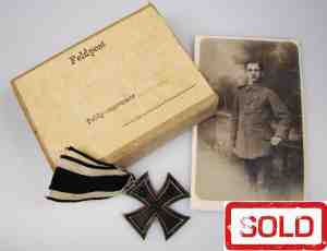 WWI Set with Iron Cross